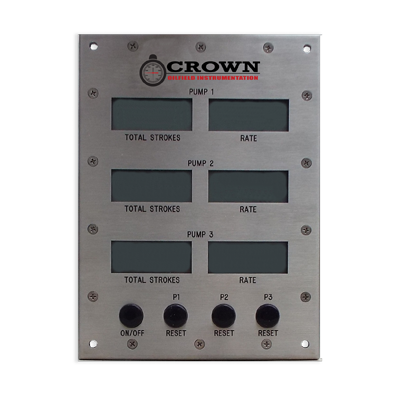 Crown Digital Stroke Counters / Rate Meters